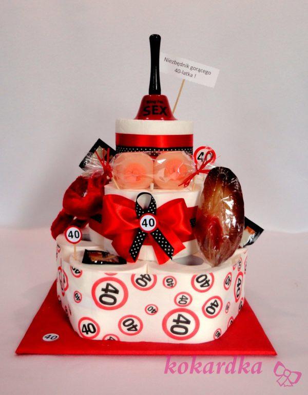 Tort Na 40 Urodziny Dla Faceta Kokardka